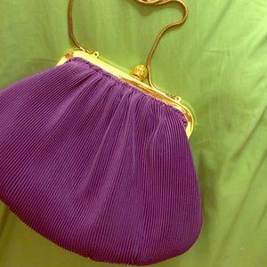 Vintage Purple Evening Bag
